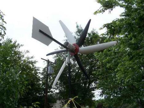 Off Grid Mini Wind Turbine