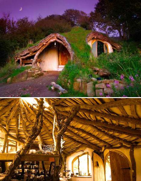 Cheap Eco Homes Hobbit