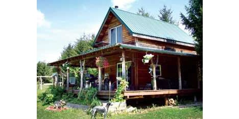 Cheap Eco Houses Timber Cabin 1