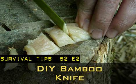 DIY Bamboo Survival Knife
