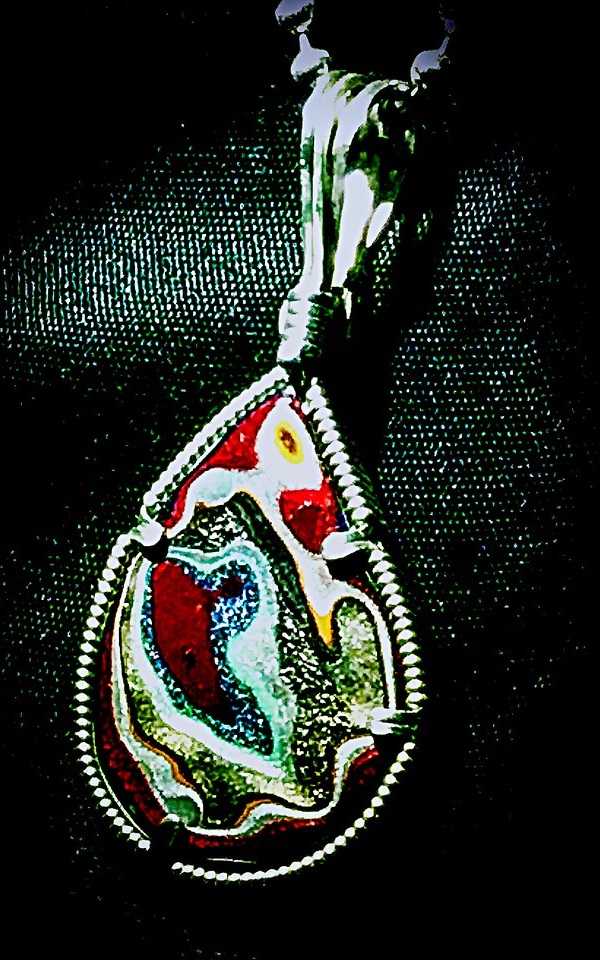 Fordite: Recycled & Reworked Auto Paint Jewelry