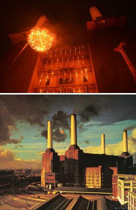 Fire Garden: Carabosse Warms Battersea Power Station