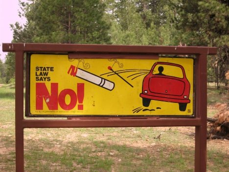Butt Out: A Dozen International No Smoking Signs