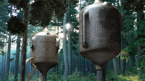 biomimicry treehouses 1
