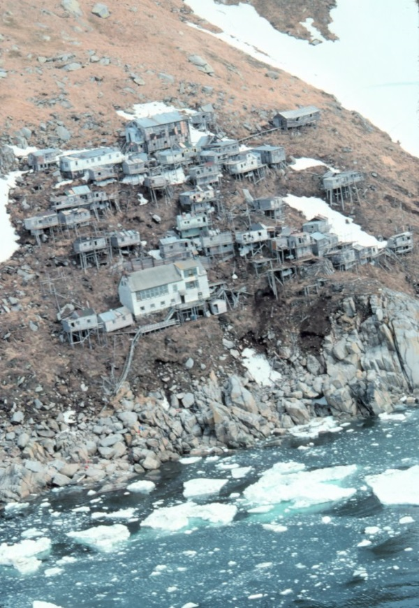 Ukivok: Alaska's Abandoned Cliff-Hanging Village