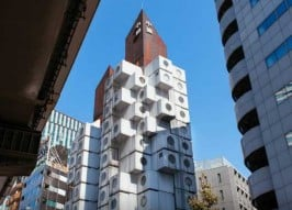 You Cube: Nakagin Capsule Tower By The Night