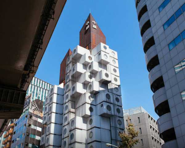 Nakagin Capsule Tower Airbnb 1