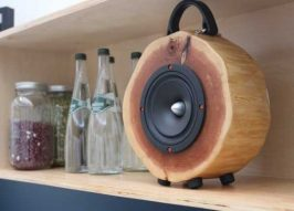 Sounds Wood: Speakers Made From Recycled Logs