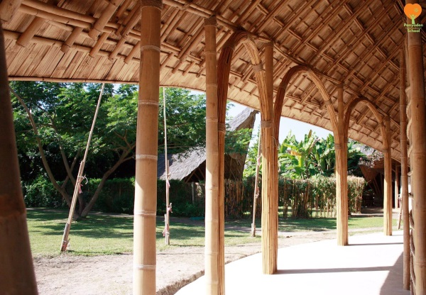 Panyaden-International-School-Sports-Hall-Bamboo-Architecture-88