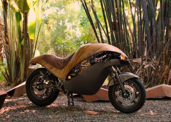 Wood Chopper: Banatti's Bamboo-Bodied Motorcycle
