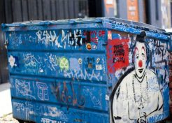 Dumpster Divine: 7 Distinctly Decorated Dumpsters